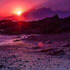 Sunrise Emerald Beach by Normf