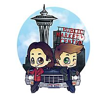 Winchesters in Seattle Photographic Print