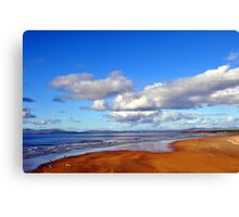 Donegal Surf Sun Rise Canvas Print