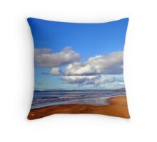 Donegal Surf Sun Rise Throw Pillow