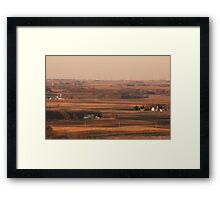 Rural Iowa Framed Print