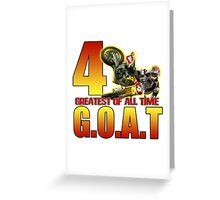 TheGOAT Greeting Card