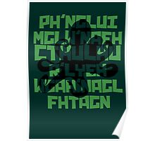 The Call of Cthulhu by H. P. Lovecraft V.1 Poster