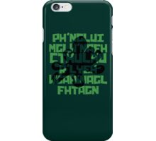 The Call of Cthulhu by H. P. Lovecraft V.1 iPhone Case/Skin
