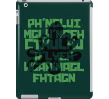 The Call of Cthulhu by H. P. Lovecraft V.1 iPad Case/Skin