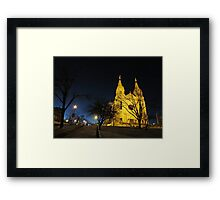 All is Calm Framed Print