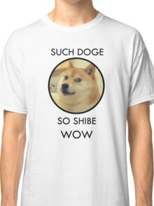 Such Doge Classic T-Shirt