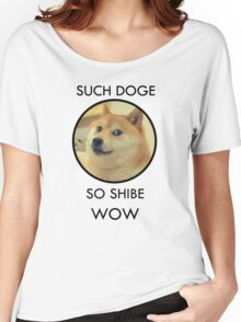 Such Doge Women's Relaxed Fit T-Shirt