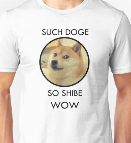 Such Doge Unisex T-Shirt