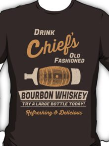 Chief's Old Fashioned Bourbon Whiskey T-Shirt