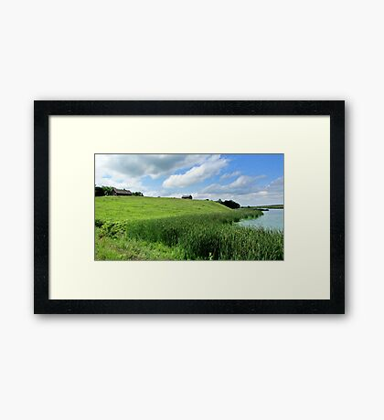 Little House on the Plains Framed Print