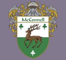 McConnell Coat of Arms/Family Crest Kids Tee