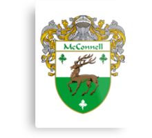 McConnell Coat of Arms/Family Crest Metal Print
