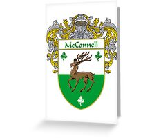 McConnell Coat of Arms/Family Crest Greeting Card