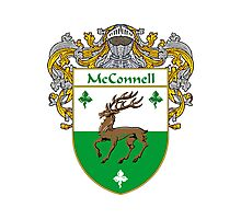 McConnell Coat of Arms/Family Crest Photographic Print