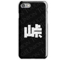 Touge Union Phone Case - Black iPhone Case/Skin