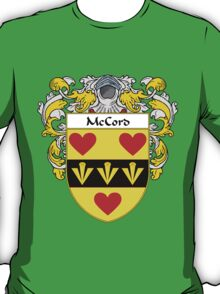 McCord Coat of Arms/Family Crest T-Shirt