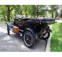 Model T With Luggage Rack Photographic Print