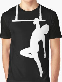 Aerialist on Trapeze Silhouette Woman Graphic T-Shirt