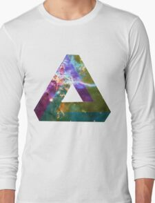 God's Impossible Triangle V1 | MXTHEMATIX Long Sleeve T-Shirt
