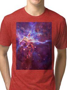 God's Domain Purple | MXTHEMATIX Tri-blend T-Shirt