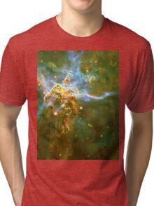 God's Domain Yellow | MXTHEMATIX Tri-blend T-Shirt