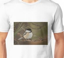 Black Capped Chickadee Unisex T-Shirt