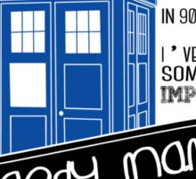 Raggedy Man Goodnight Sticker