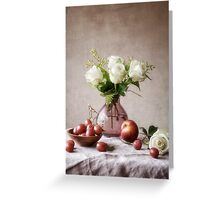 September Table Greeting Card
