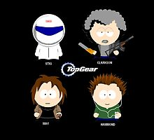 Top Gear Cartoon by LPdesigns