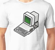 Apple //c CRT Monitor Unisex T-Shirt