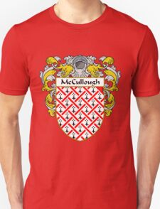 McCullough Coat of Arms/Family Crest T-Shirt