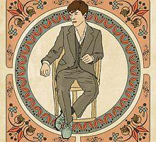 Art Nouveau Sherlock, BBC Sherlock by Justgot1