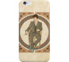 Art Nouveau Sherlock, BBC Sherlock iPhone Case/Skin
