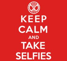Keep Calm and Take Selfies - Spiderman Kids Clothes