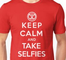 Keep Calm and Take Selfies - Spiderman Unisex T-Shirt