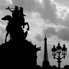 Parisian Silhouettes ~ Part Two by artisandelimage