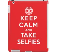 Keep Calm and Take Selfies - Spiderman iPad Case/Skin