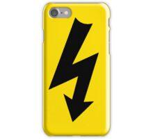 High Voltage WARNING! iPhone Case/Skin
