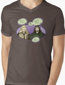 Fili and.... Mens V-Neck T-Shirt