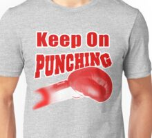 Keep On Punching (Red) Unisex T-Shirt