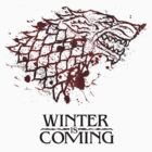 winter is coming: house stark sigil by Fizziponi