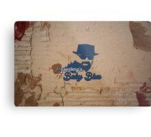 Heisenberg's Baby Blue. Metal Print