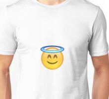 Smiling Angel Emoji Unisex T-Shirt