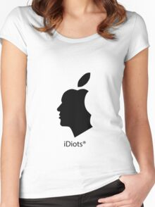 deGeneration Apple Women's Fitted Scoop T-Shirt
