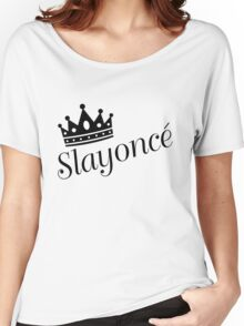 Slayonce Women's Relaxed Fit T-Shirt