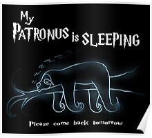 My Patronus is sleeping Poster