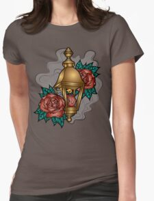 Traditional Lantern Womens Fitted T-Shirt