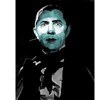 Bela Lugosi as Dracula Photographic Print