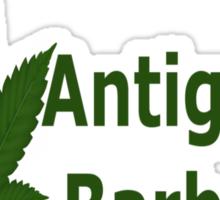 0187 I Love Antigua & Barbuda  Sticker